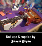 Guitar Set Ups & Repairs by Jamie Bryen